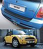 Накладка заднего бампера Mini R50 One / R53 Cooper Mk I 2001-2006