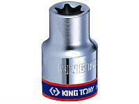 """Головка торцевая Е-стандарт 1/4"""" E8 KING TONY 237508M, фото 1"""
