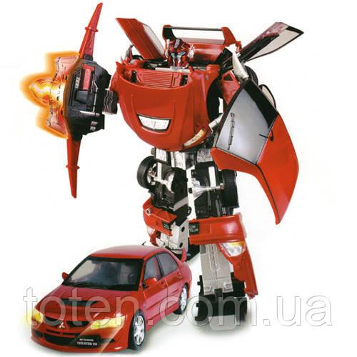 Робот - трансформер машинка MITSUBISHI EVOLUTION VIII (1:18) 50100 r Roadbot