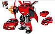 Робот - трансформер машинка MITSUBISHI EVOLUTION VIII (1:18) 50100 r Roadbot, фото 3