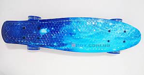 """Пенни борд Penny Style Nickel 28"""" Long Ocean Blue (2T2015)"""