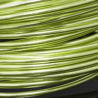 Алюминиевая Проволока 2мм/12м, Цвет: Светло-зеленый, Толщина 2мм, около 12м/моток, (УТ0028569)