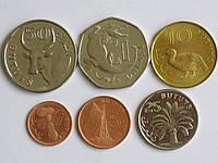 Гамбия 6 монет