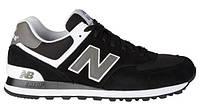 Женские кроссовки New Balance 574 ML Black Grey