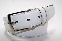 Ремень мужской кожаный 3,5 см. Ремень брючный классический ALON