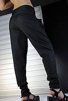Женские брюки-лосины с широким поясом
