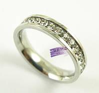 Посеребренное кольцо, элегантное утонченное классическое модное кольцо, размер 18