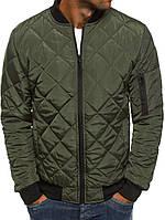 Мужская осенняя куртка ромб 016