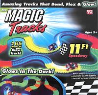 Конструктор MAGIC Tracks Светящийся гнущийся дорога 165 деталей