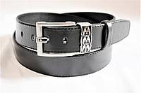 Ремень мужской кожаный 115х4см Брючный, джинсовый, под брюки и джинсы №11