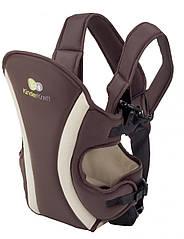 Сумка-кенгуру детская KINDERKRAFT COMFORT BROWN