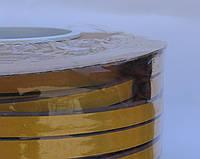 Уплотнитель оконный D-профиль 10*12mm коричневый Sanok
