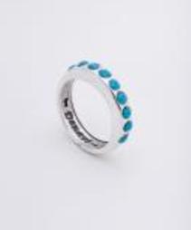 """Кольцо """"Тьер"""" с кристаллами Swarovski, покрытое серебром (j7183040)"""