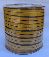 Уплотнитель оконный D-профиль 12*14mm коричневый Sanok