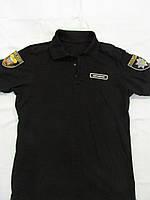 Тенниска ПОЛО полиции (цвет черный)
