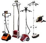 Пароочистители, паровые утюги, паровые швабры, отпариватель, электровеники
