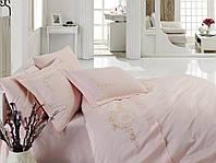 Постельное белье Cotton Box FEELING Pembe двуспальный евро комплект