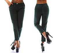 """Женские летние стильные брюки 285 """"Чинос Коттон Принт"""""""