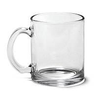 Кружка стеклянная 320 мл прозрачная (товары под логотип)