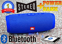 Супер колонка JBL Charge 3, Bluetooth, USB + power Bank, 6000 mAh