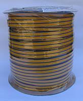 Уплотнитель оконный Р-профиль 9*5,5mm коричневый Sanok