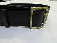 Ремень кожаный партупейный (коричневый)