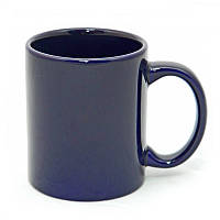 Чашка керамическая синяя 340 мл (корпоративные подарки)