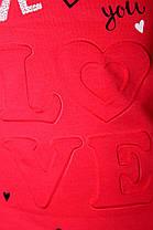 "Туника выпуклые буквы ""Love""(от 5 до 8 лет), фото 2"