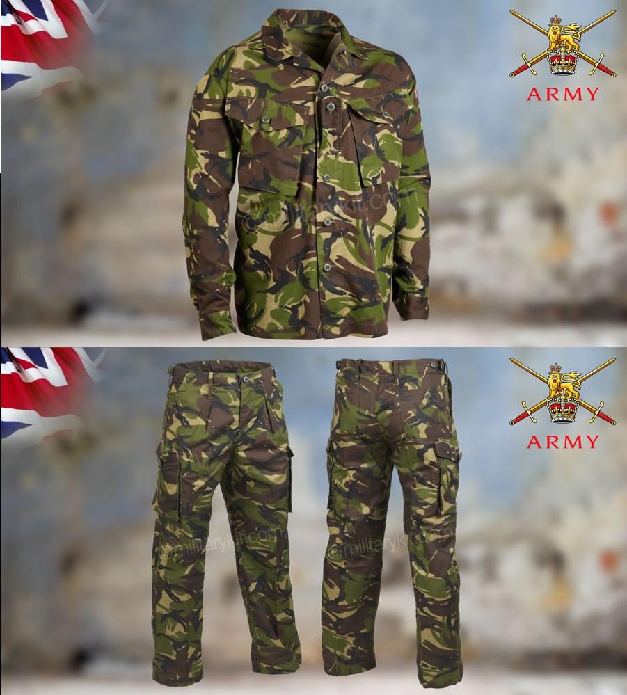 Комплект брюки + китель оригинал ВС Великобритании - DPM