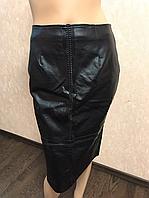 Женская юбка с кожезаменителя Glamorous, 38р