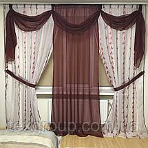 Тюль готовая Виолетта 5*2.70м, фото 2