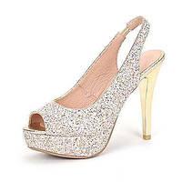 Для женщин-Свадьба Для праздника Для вечеринки / ужина-Лак Материал на заказ клиента-На шпильке-Обувь для девочек клуб Обувь-Обувь на 05652431