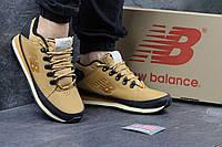 Мужские кроссовки New Balance 754, рыжие, осень-зима