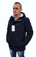 Мужская зимняя синяя куртка Remain