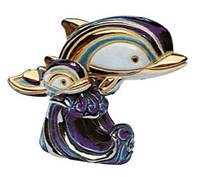 Фигурка De Rosa Rinconada Anniversary Дельфины на волне Dr782-46 фиолетовый