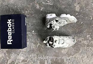 Женские кроссовки Reebok Insta Pump Fury Grey, фото 3