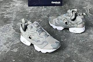Женские кроссовки Reebok Insta Pump Fury Grey, фото 2