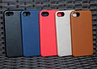 Кожаный чехол Apple для iPhone 7 копия оригинала, фото 1