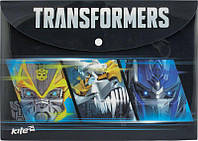 Папка на кнопке Transformaers А4 Kite TF15-200K