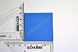 Термопрокладка 3K600 B24 1.0мм 50x50 6W синяя термоинтерфейс для ноутбука, фото 3