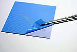 Термопрокладка 3K600 B24 1.0мм 50x50 6W синяя термоинтерфейс для ноутбука, фото 7