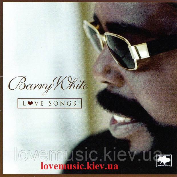 Музичний сд диск BARRY WHITE Love songs (2003) (audio cd-R)
