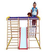 Детский спортивный уголок раннего развития ребенка  детская Спортивная площадка TOP kids natural 3