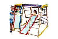 Детский спортивный уголок раннего развития ребенка  детская Спортивная площадка TOP kids natural 3 max