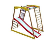 Детский спортивный уголок раннего развития ребенка  детская Спортивная площадка TOP kids natural 2