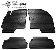 Stingray Модельные автоковрики в салон Шевроле  Эпика 2006-  Комплект из 4-х ковриков (Черный)