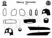 Chevrolet Corvette C5 Накладки на панель (Meric)