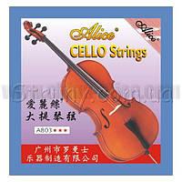 Alice A803 Струны для виолончели сталь/серебро