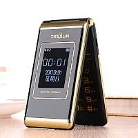 Раскладной телефон Tkexun M1 на 2 Sim с внешним Экраном и Большой АКБ 5800Mah