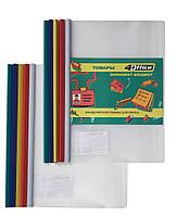 Папка - файл 4OFFICE 4-250 с бок. планкой-прижимом 10мм (65 лист) 140мкм